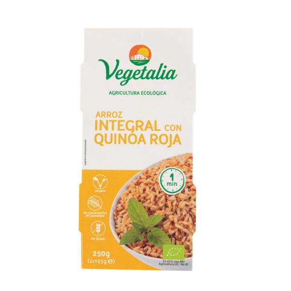Arroz/quinoa roja cocidos 2x125g