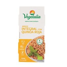 Arroz/quinoa roja cocidos 2x125g ECO