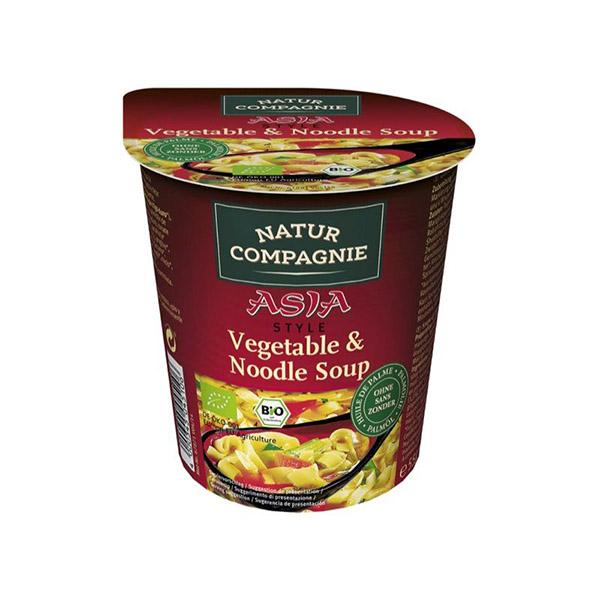 Sopa pasta verduras Asia 55g ECO