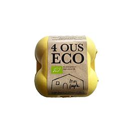 Huevos pack 4u