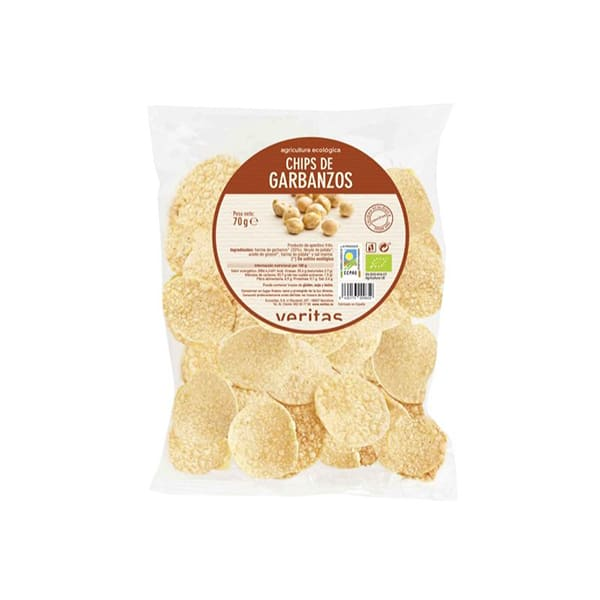 Chips de cigrons 70g ECO
