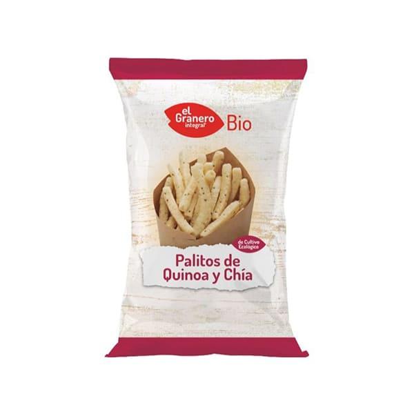 Palitos de quinoa y chía 75g ECO
