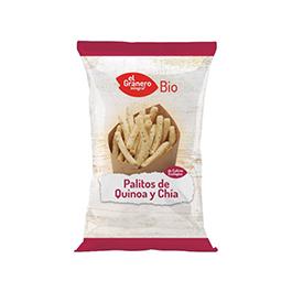 Palitos de quinoa y chía 75g