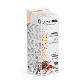 Beb avena/cacao Am. 1L ECO
