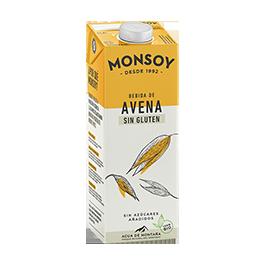 Bebida avena s/g Monsoy ECO
