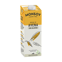 Bebida De Avena S/Gluten Monsoy 1L Eco