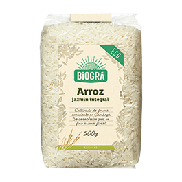 Arroz Jazmín integral 500g ECO