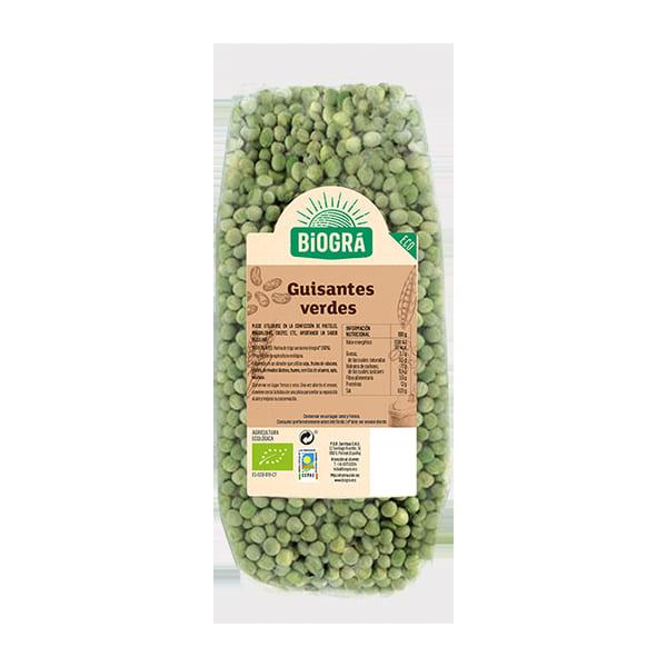 Guisantes verdes 500g ECO