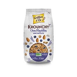 Crunchy chía arándanos 500g