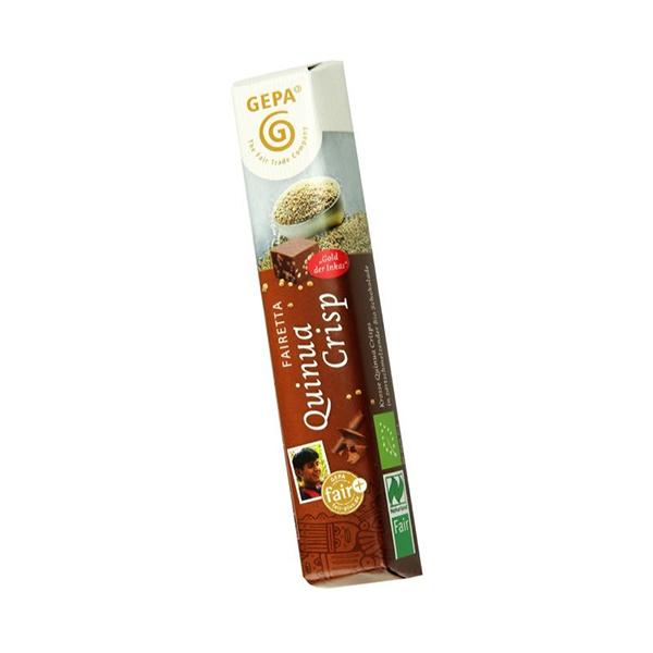 Chocolatina quinoa inflada 45g ECO