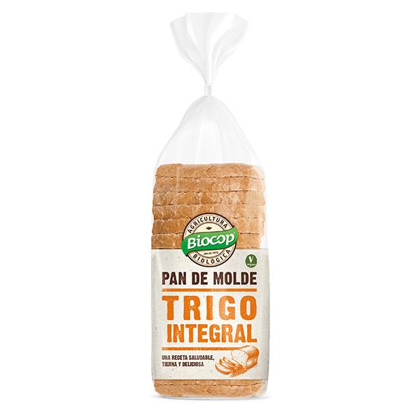Pan molde trigo integral 400g ECO