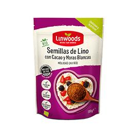 Semillas lino/cacao/moras 200g