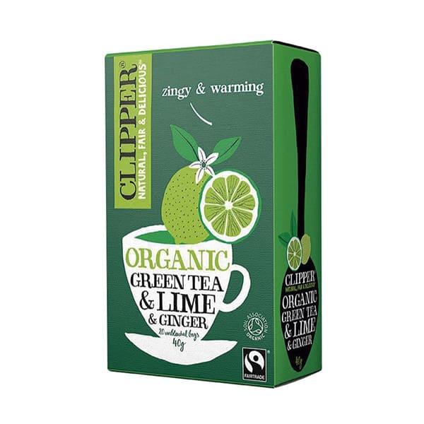 Té verde, lima y jengibre 20b