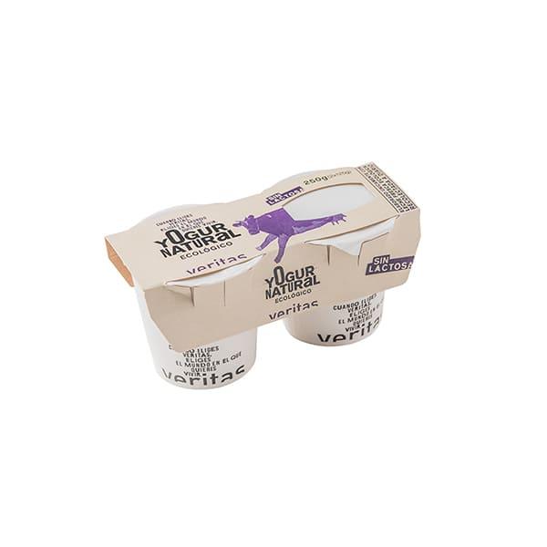 Yogur natural s/lactosa 2x125g