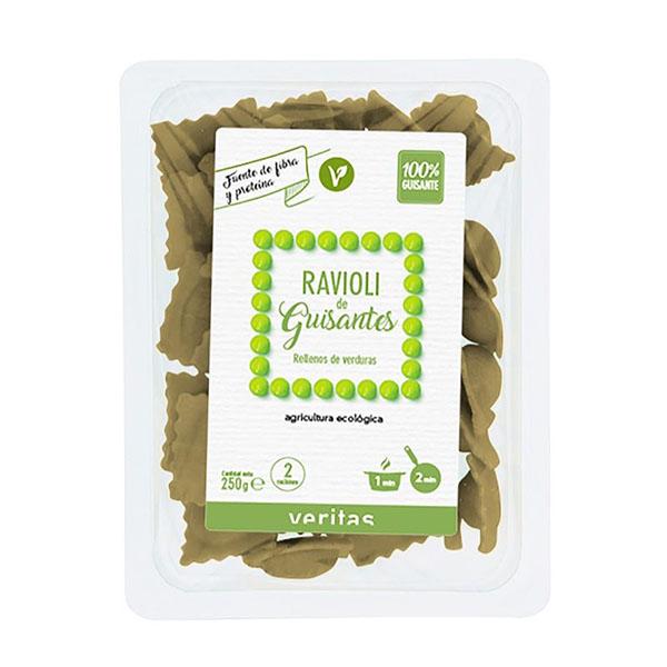 Ravioli pèsols/verduras 250g ECO