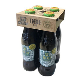Refresco cola Indi 4x200ml ECO
