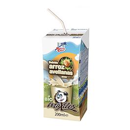 Bebida arroz/avellana 200ml