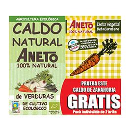 Caldo verdura + zanahoria 1l (gratis)
