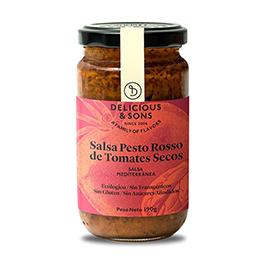 Salsa pesto Rosso tomate seco 190g