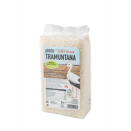 Arroz semilargo blanco 1kg