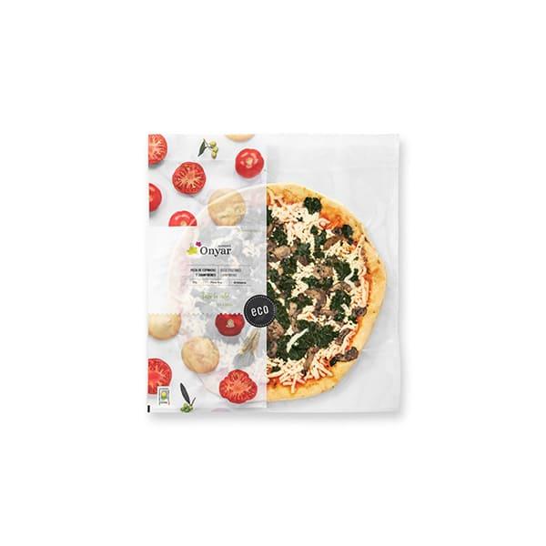 Pizza espi/champis Onyar 385g ECO