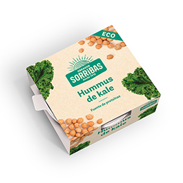 Hummus kale 240gr ECO