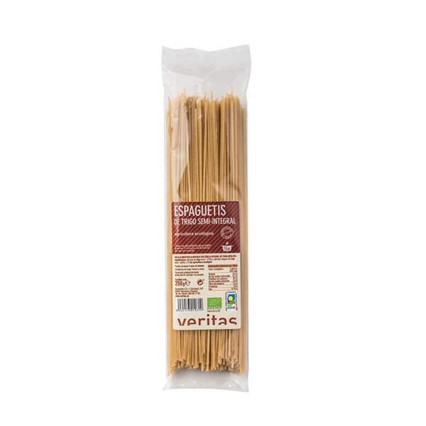 Espaguetis Semi-integral Veritas 250g ECO