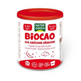 Biocao bajo azúcar NGreen 400g ECO