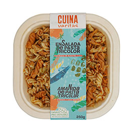 Ensalada Pasta Tricolor 250g ECO
