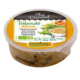 Tabulé quinoa verdura/limín 180g
