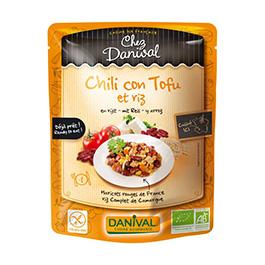 Chili con tofu y arroz 250g