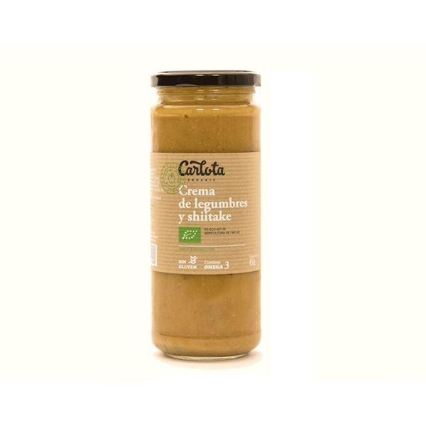 Crema legumbre/shitake 450g ECO