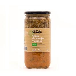Guiso lentejas/quinoa 720g