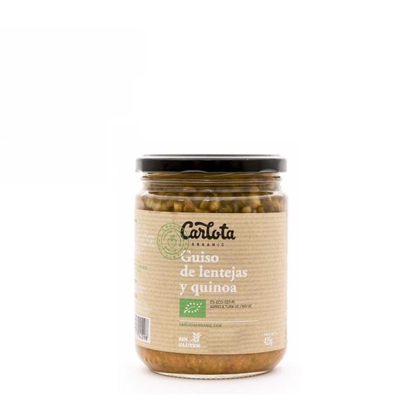 Guiso lenteja/quinoa 450g ECO