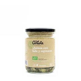 Quinoa kal/espin Carlota 425g ECO