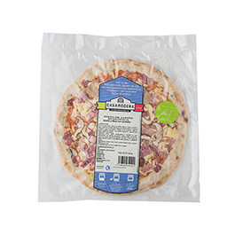 Pizza de jamón 395g ECO