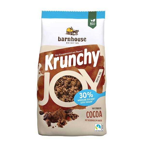 Crucnhy cacao sin azúcar 375g ECO