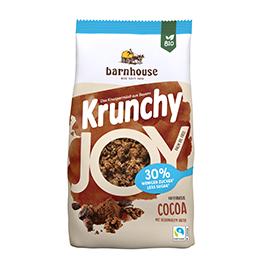 Crunchy cacao s/azucar Barnh ECO