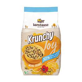 Crunchy ama/nar Barnh 375g ECO