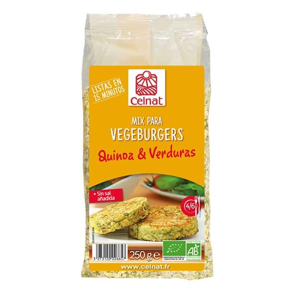 Mix Hamburguesa Quinoa/Verduras 250g ECO