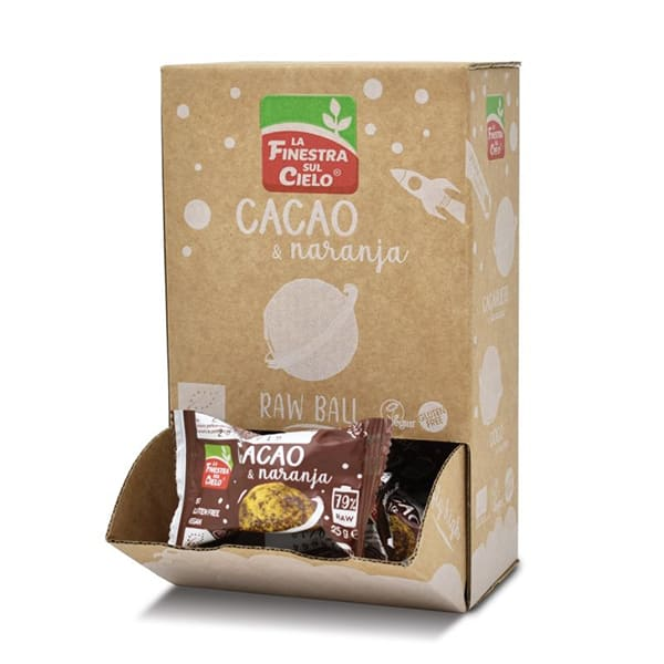 RawBall Cacao y Naranja 25g ECO