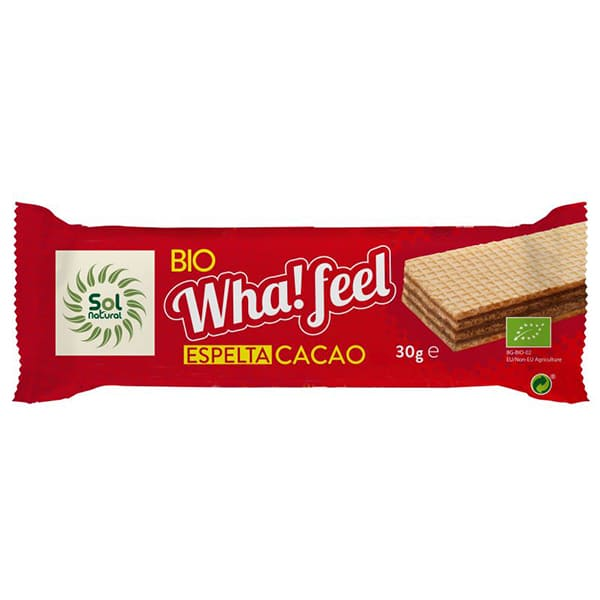 Wha!feel Espelta y Cacao 30g