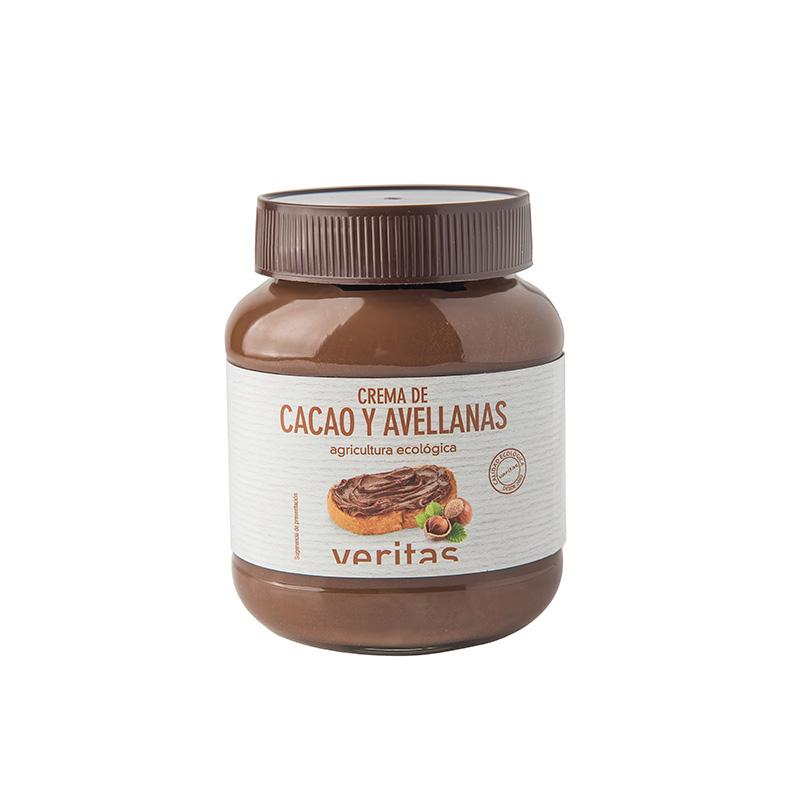 Crema de cacao y avellanas 400g ECO