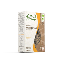 Fusilli Multicereal s/g 340g ECO