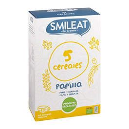 Papilla 5 cereales +6 meses 230g ECO