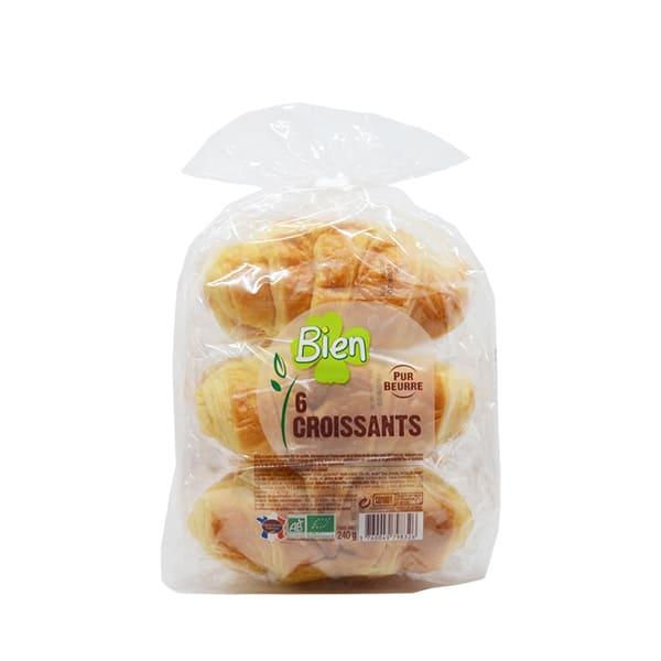 Croissant mantequilla 6x40g ECO