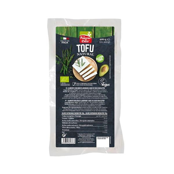 Tofu natural sin gluten 200g ECO