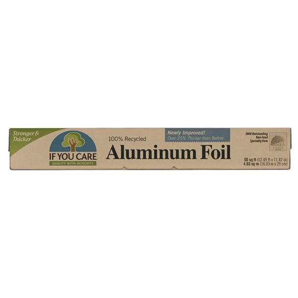 Papel de aluminio 100% recic.