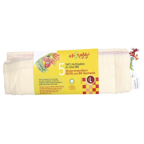 Bolsa cereal/legumbre 5un