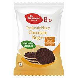 Tortitas de maíz choco negro ECO